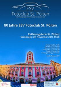 """Vernissage """"80 Jahre ESV Fotoclub St. Pölten"""""""